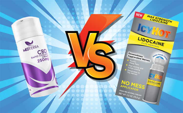 CBD Cooling Cream vs. Icy Hot. What Works for Muscle Pain