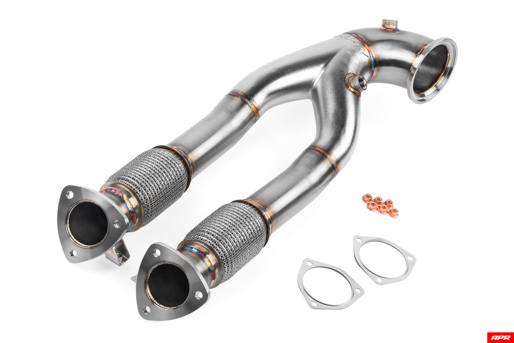 APR Cast Race Downpipe for 2.5T Evo - RS3