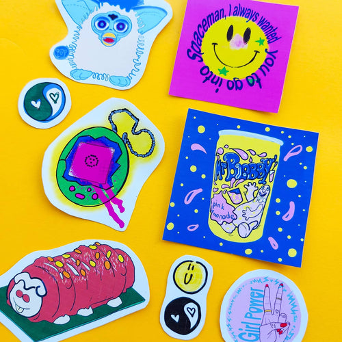 Best Selling Sticker Pack 2 - 90's Baby!