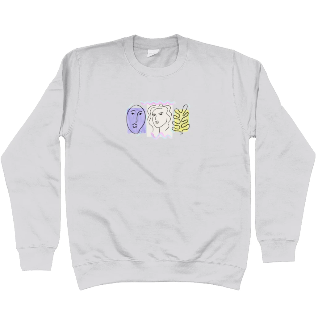 Faces Sweatshirt