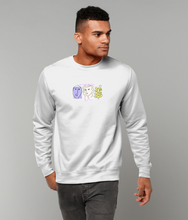 Load image into Gallery viewer, Faces Sweatshirt