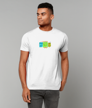 Load image into Gallery viewer, Faces Short Sleeve T-Shirt (Crayola Colours)