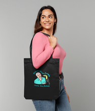 Load image into Gallery viewer, Premium David Tote Bag Plus FREE Greetings Card or sticker pack.