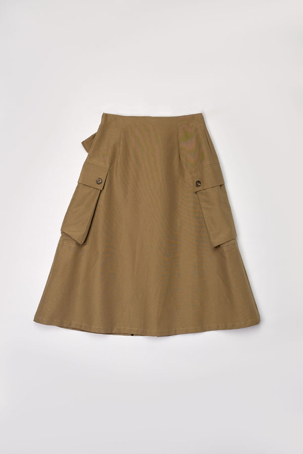 Utility Wrapped Skirt