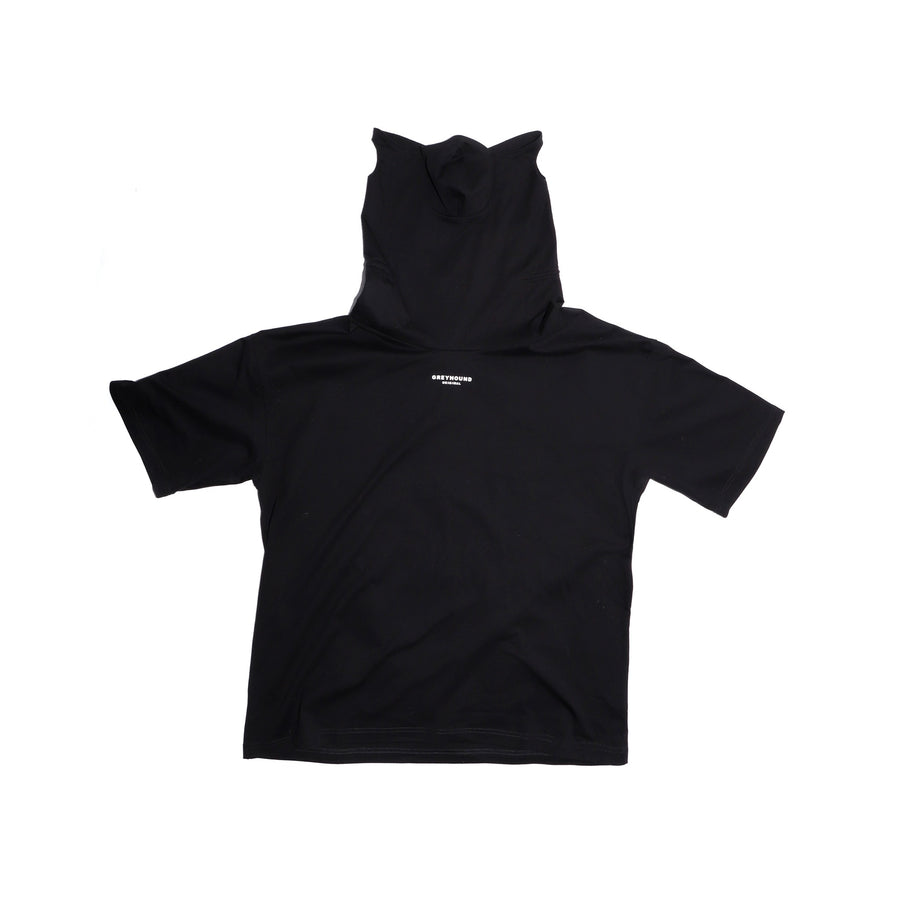 Greyhound Mask Tee Black