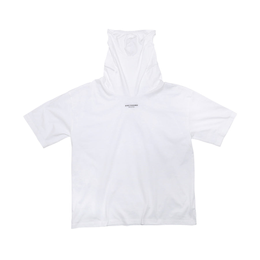 Greyhound Mask Tee White
