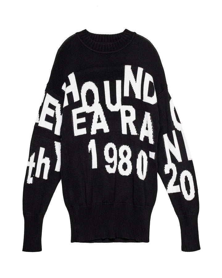 GREYHOUND 40TH ANNIVERSARY KNITTED SWEATER