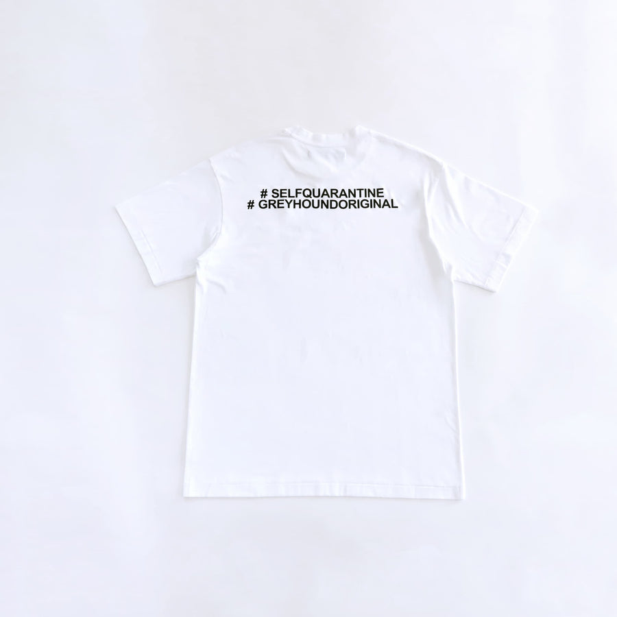 Greyhound Original I Will Survive T-shirt White
