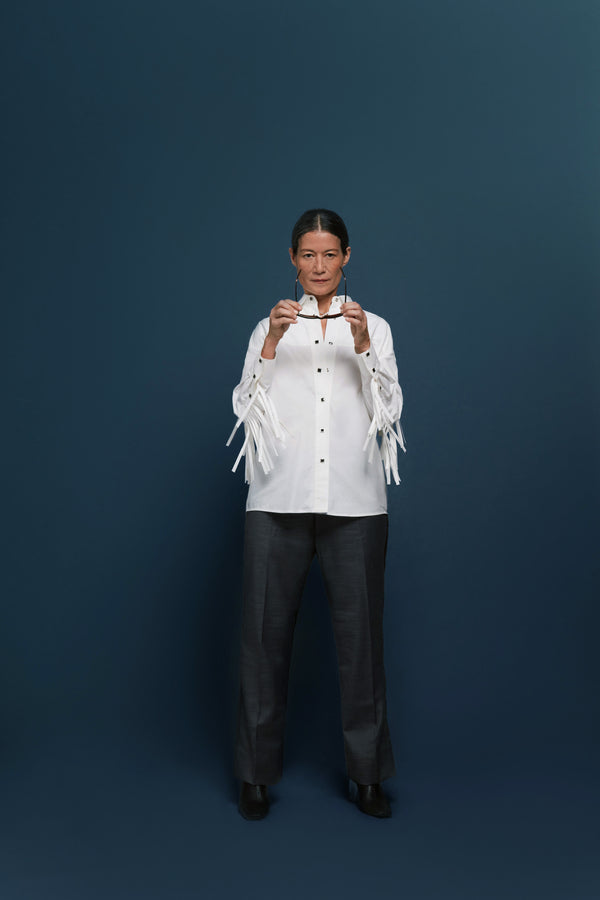 Fringed Western Shirt