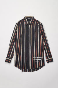 Pinstriped Long Shirt
