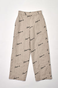 Embroidered Logo Lounge Pants