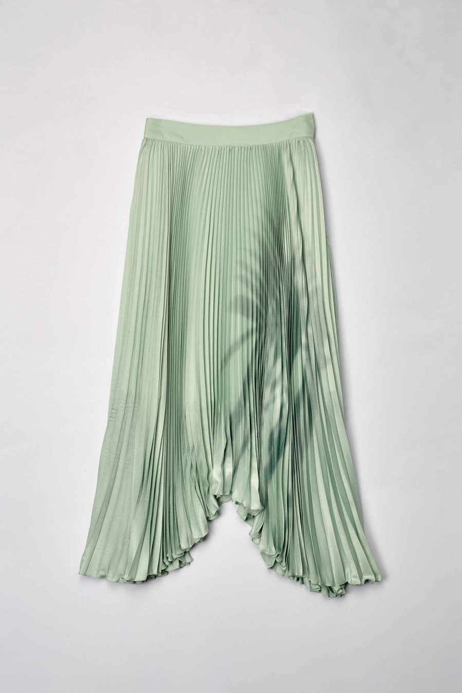 Shadow Pleated Skirt