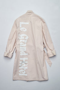 Le Grand De Greyhound Double Breasted Robe Coat
