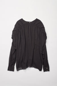 Ruffled Shoulders Top