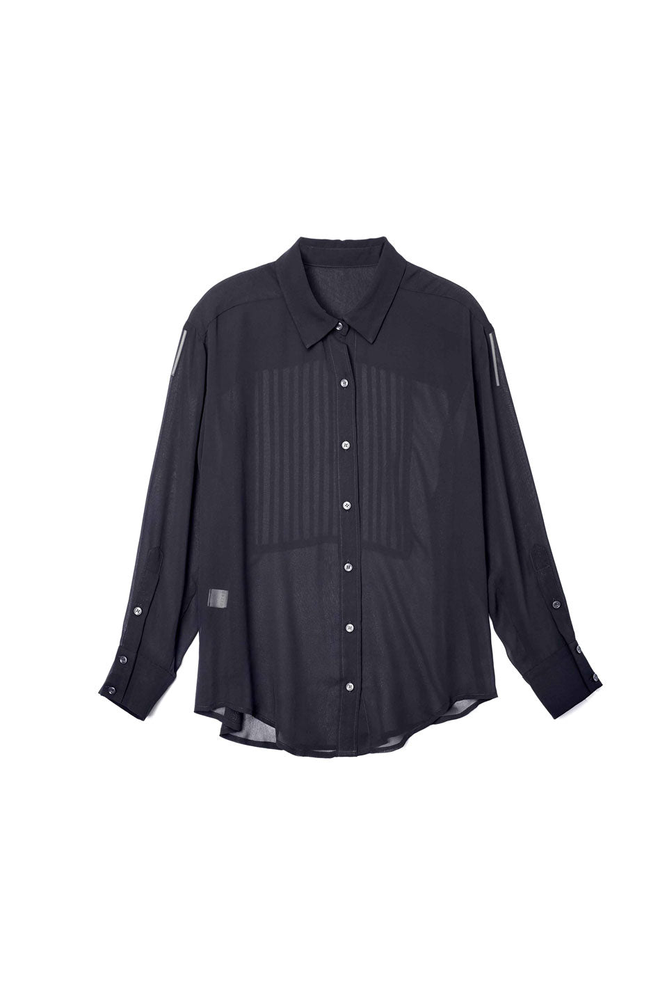 Reverse Pleated Detail Shirt