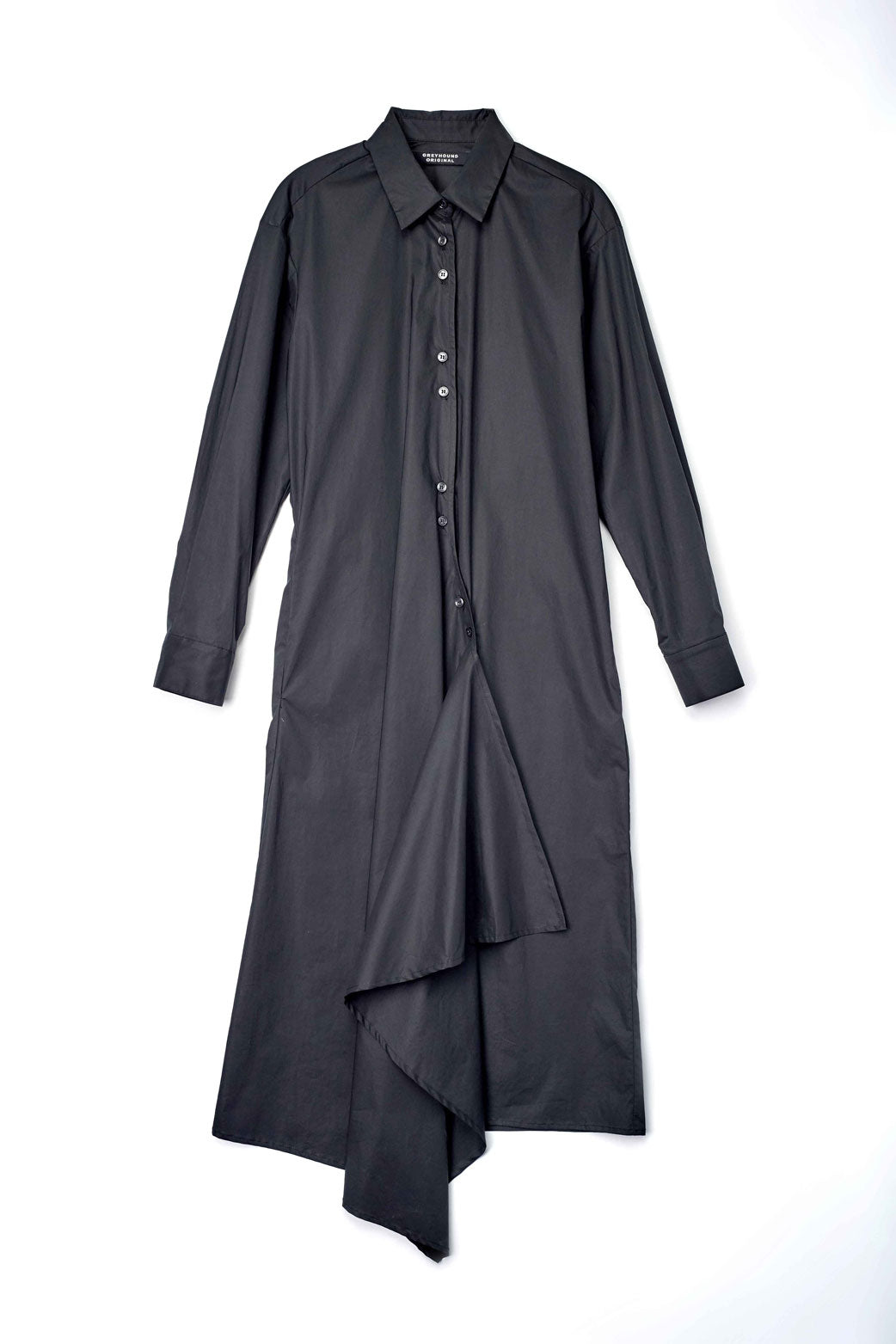Asymmetrical Shirt Dress