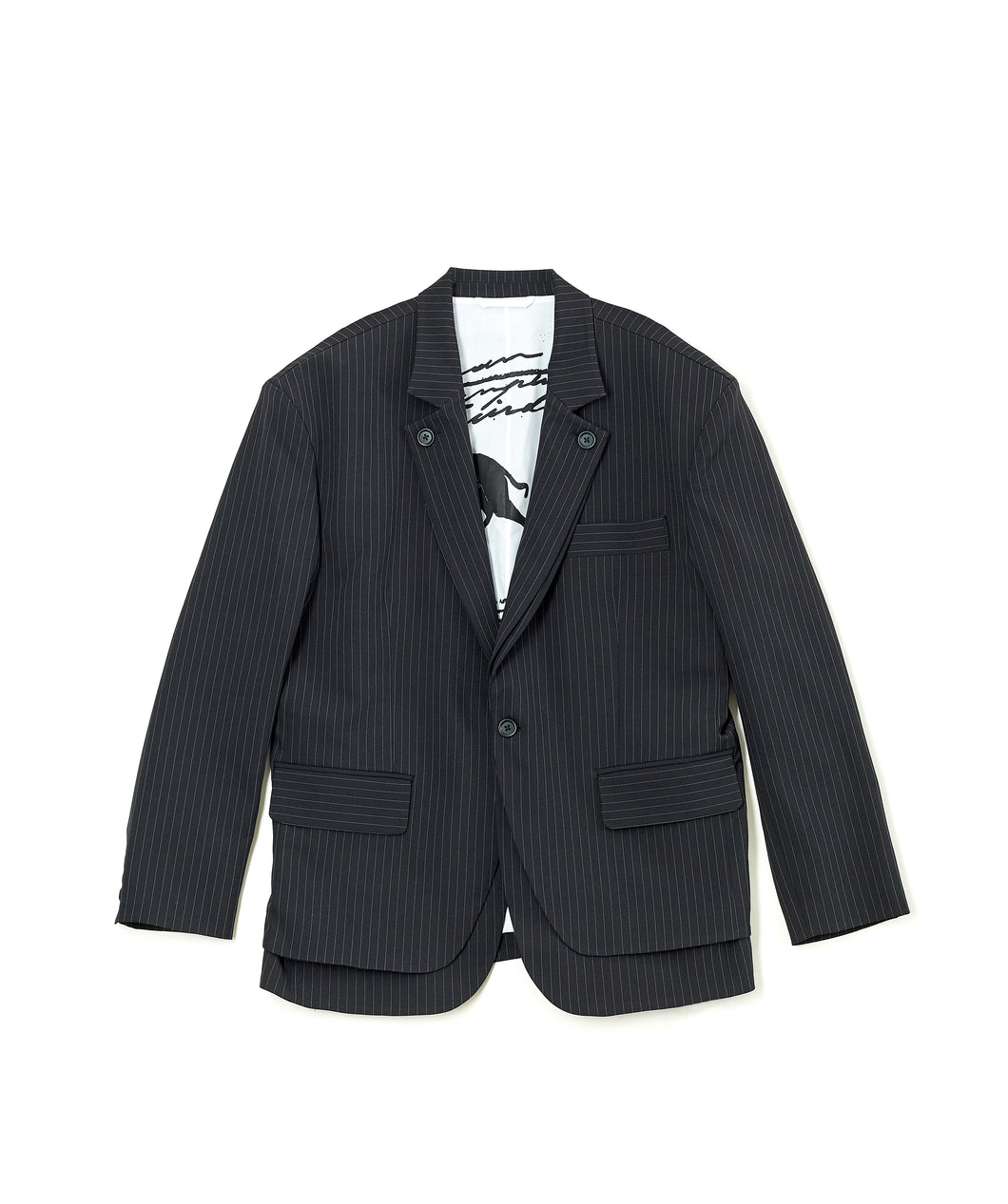 Oversize Double layers Blazer