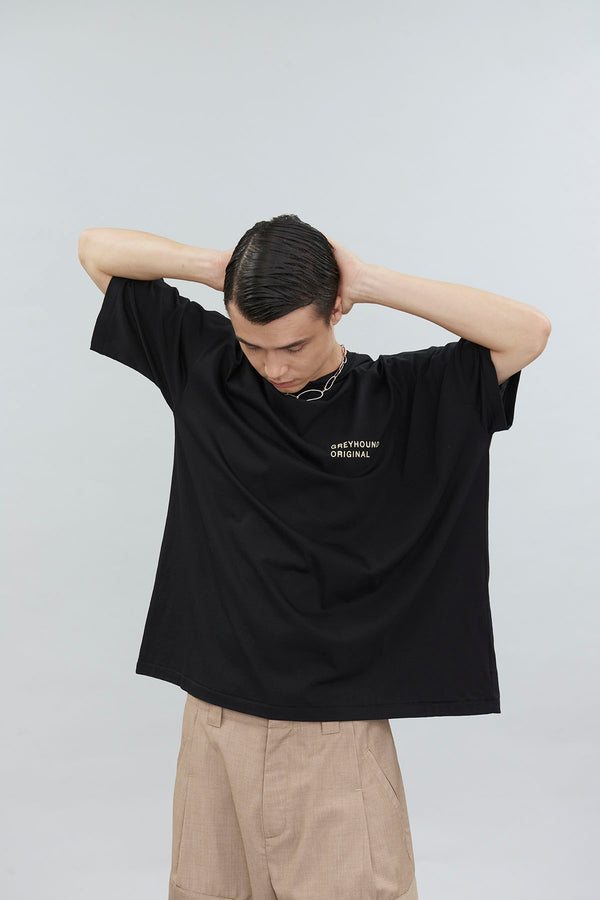SIDE STRETCHED T-SHIRT