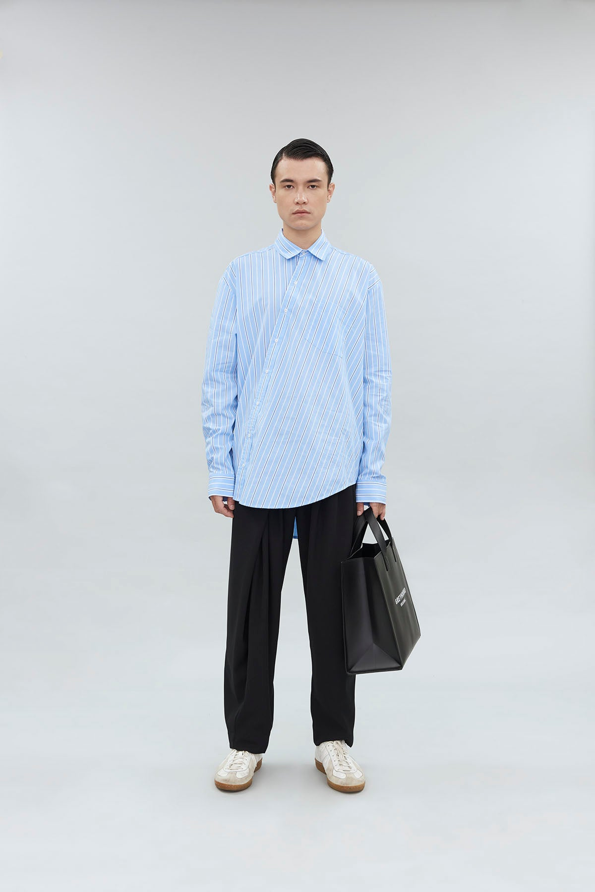 DECONSTRUCTED LONG SLEEVE SHIRT
