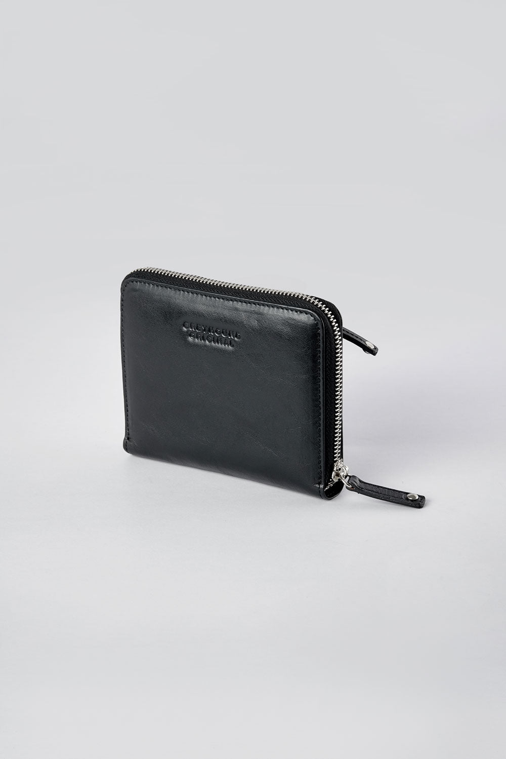 Small Leather Zipper Wallet