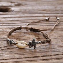 Load image into Gallery viewer, save_ocean_jewelry_save_sea_life_sea_turtle_bracelet_ocean_ring_shell_necklace_anklets_whale_shark_seashell_dolphin_charity_conservation_beach_and_ocean_life