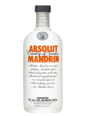 Absolut Vodka Mandarin 750ml