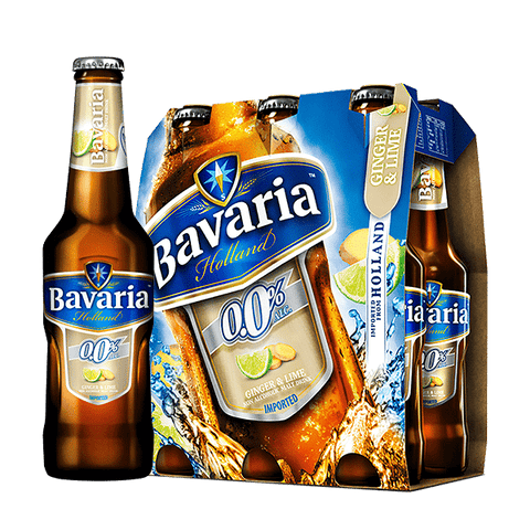 Bavaria Ginger Lime Non Alcoholic 330ml NRB