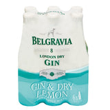 Belgravia Gin & Dry Lemon 275ml
