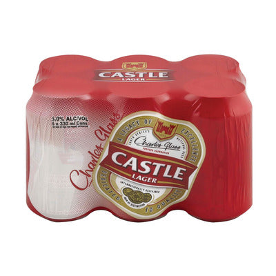 Castle Lager 330ml Can