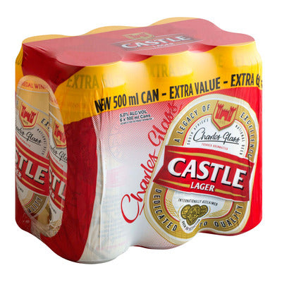Castle Lager 500ml Can