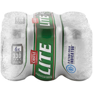 Castle Lite 330ml Can