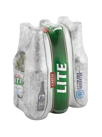 Castle Lite 340ml NRB