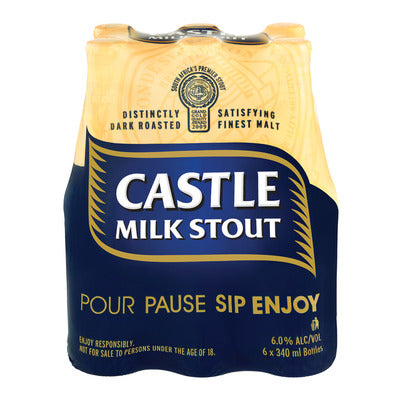 Castle Milk Stout 340ml