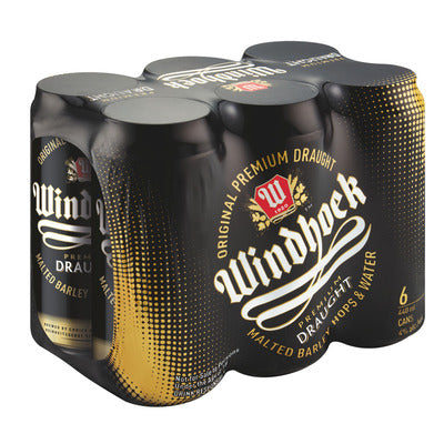 Windhoek Draught 440ml