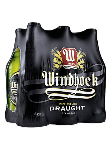 Windhoek Draught 440ml NRB