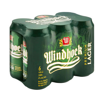 Windhoek Lager 440ml Can