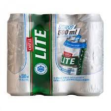 Castle Lite 500ml Can