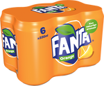 Fanta Orange 330ml Can