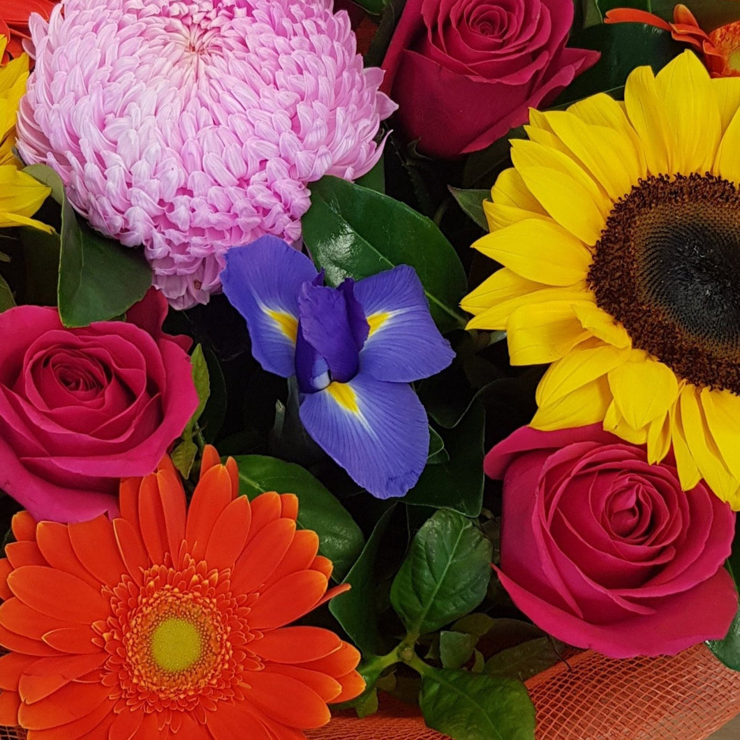 FLORIST CHOICE - BRIGHTS - ARRANGEMENT - Gold Coast City Florist