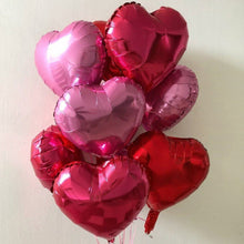 Load image into Gallery viewer, foil balloons (hearts) - Gold Coast City Florist