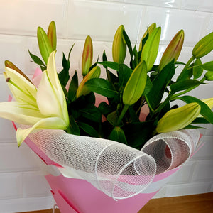 Oriental Lily Bouquet - Gold Coast City Florist