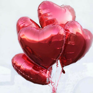 foil balloons (hearts) - Gold Coast City Florist
