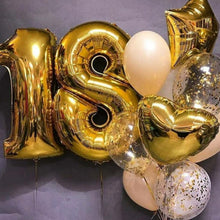 Load image into Gallery viewer, Large number foil Balloons - Gold Coast City Florist