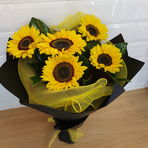 Sunflower Bouquet - Gold Coast City Florist