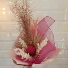 Load image into Gallery viewer, Pink and white tones Dried flower bouquet - Gold Coast City Florist