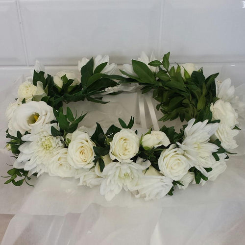 Flower Crown - 2 types of flowers - Gold Coast City Florist