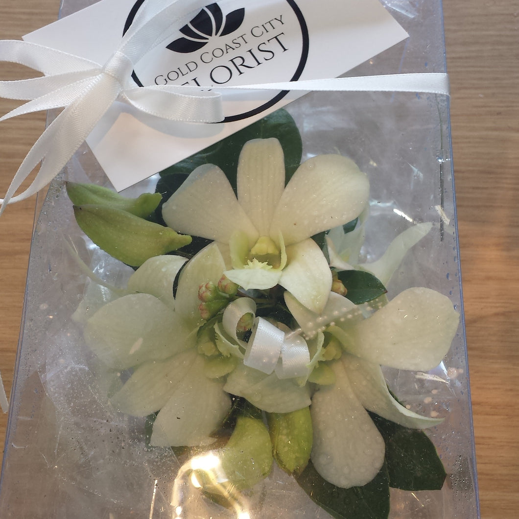 Wrist Corsage Singapore orchids - Gold Coast City Florist