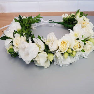 Flower Crown - 3 types of Flowers - Gold Coast City Florist