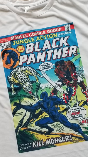 Black Panther Comic Book Tees