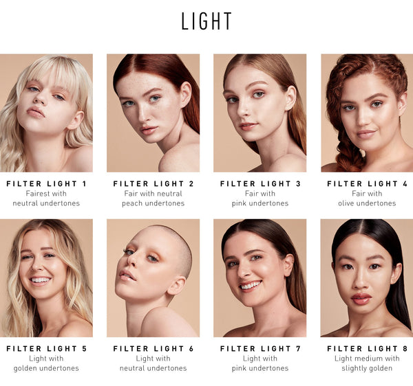 Filter Effect Soft-Focus Foundation - Light